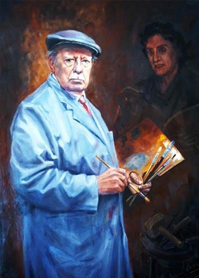 Retrato Miguel Ángel Casany
