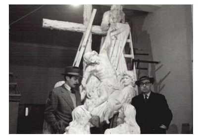 D. Miguel Ángel Casañ - Escultor Trono Hermandad del Descendimiento