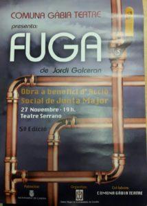 Obra Teatral - Fuga -De Jordi Galceran