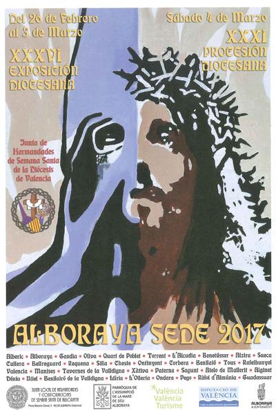 Procesión diocesana de la Semana Santa Alboraya 2017