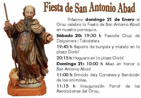 Fiesta de San Antonio Abad - Grao de Gandia