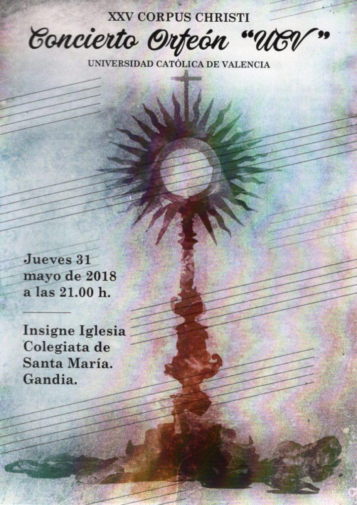 XXV Concierto Corpus Christi