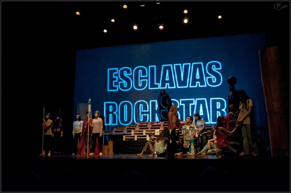 """Teatro Solidario 2018 """"Esclavas Rock Star"""""""