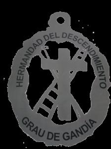Medalla Hermandad del Descendimiento - Reverso